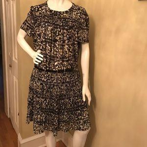 ELLE Black & White 2 PC Skirt Set
